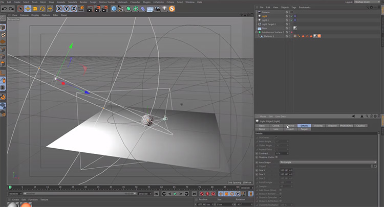 Cinema 4d software