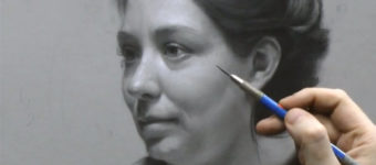 Vitruvian portrait drawing video course