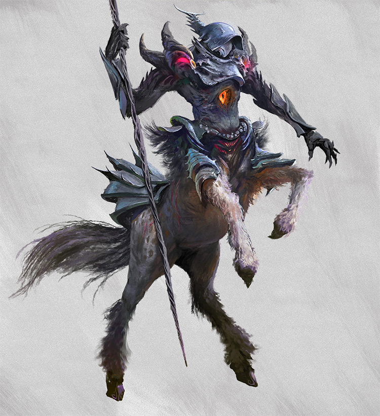 dark hunter centaur character