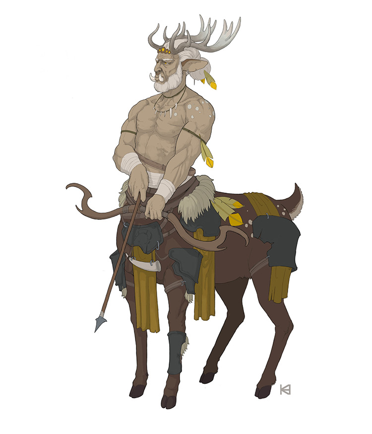 centaur illustration