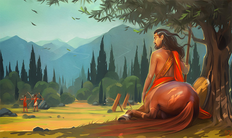 chiron centaur creature