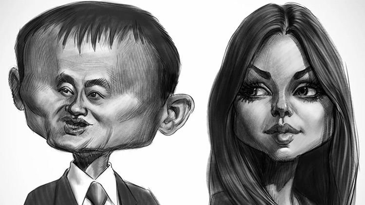 Tutorial pdf drawing caricature