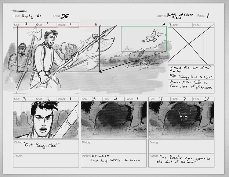 storyboard anatomy