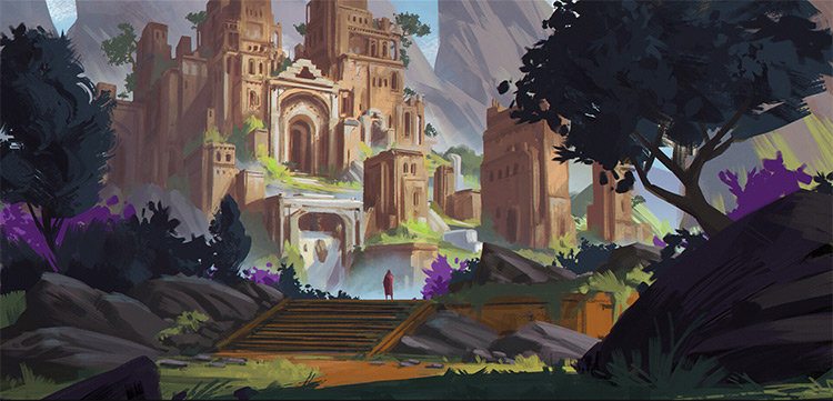 Environment Concept Art 50 Examples For Inspiration