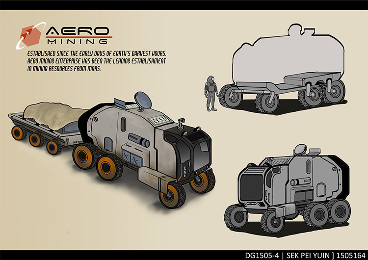 Quick sketches of vehicle concepts