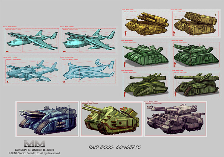 Military masters - custom concept art designs