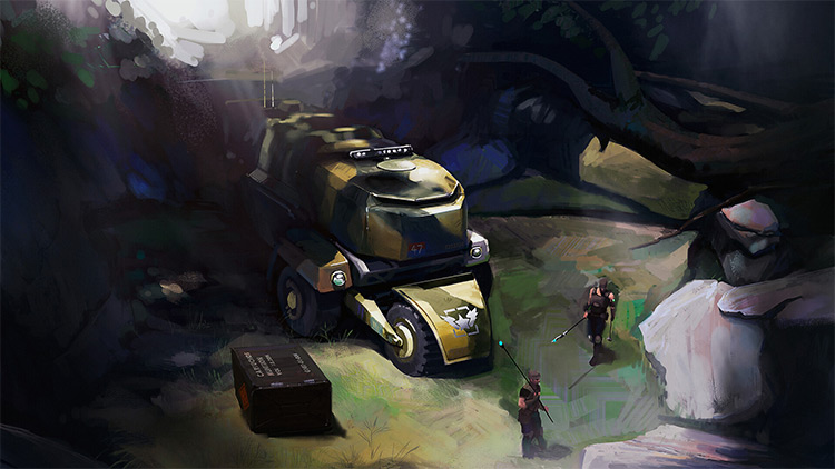 ATLAS - all-terain concept art vehicle