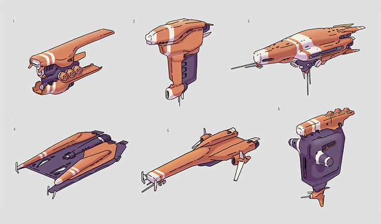 Shace ship space designs