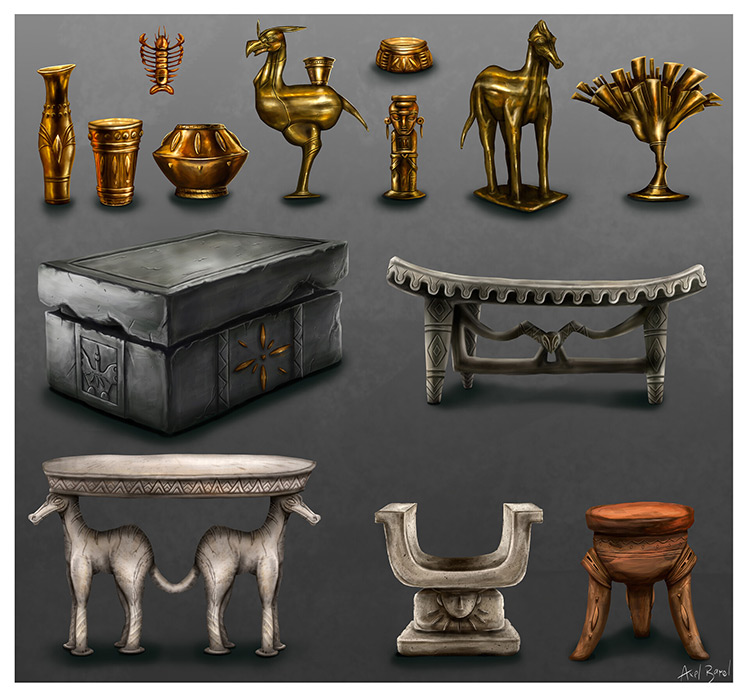 Personal furniture concept pieces