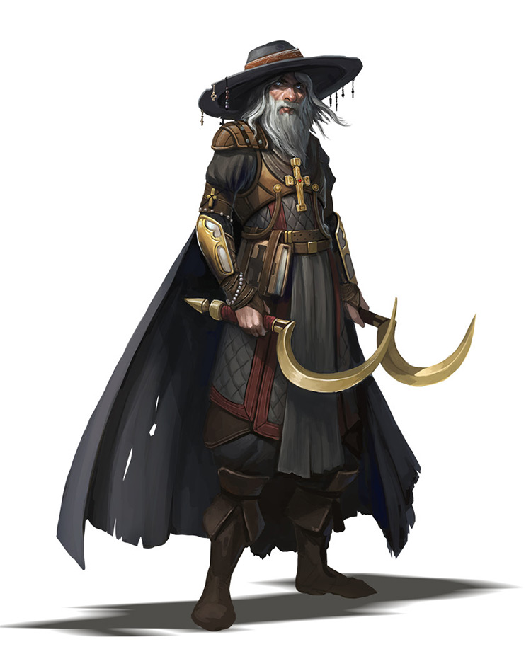 Wizard mage style character