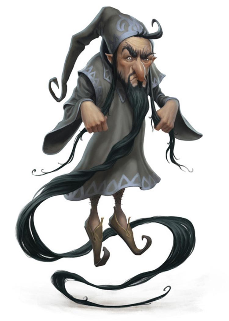 Magician character concept