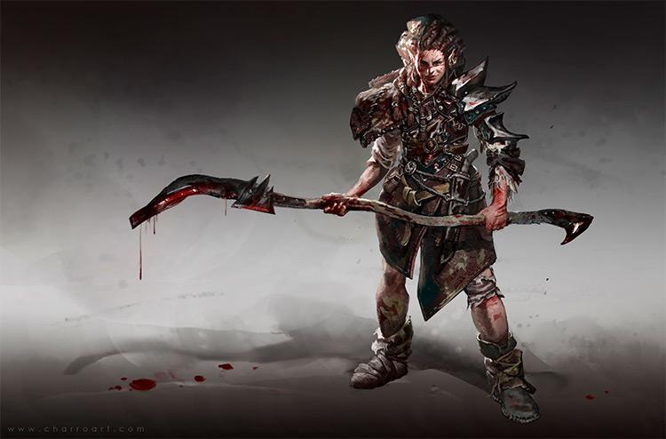 Reaper character concept art