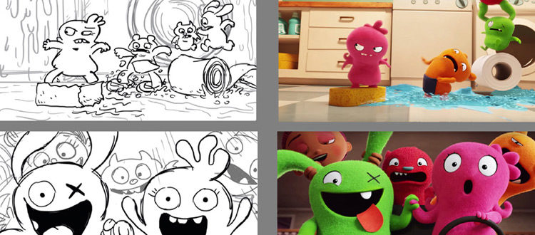 Uglydolls story art by David Trumble