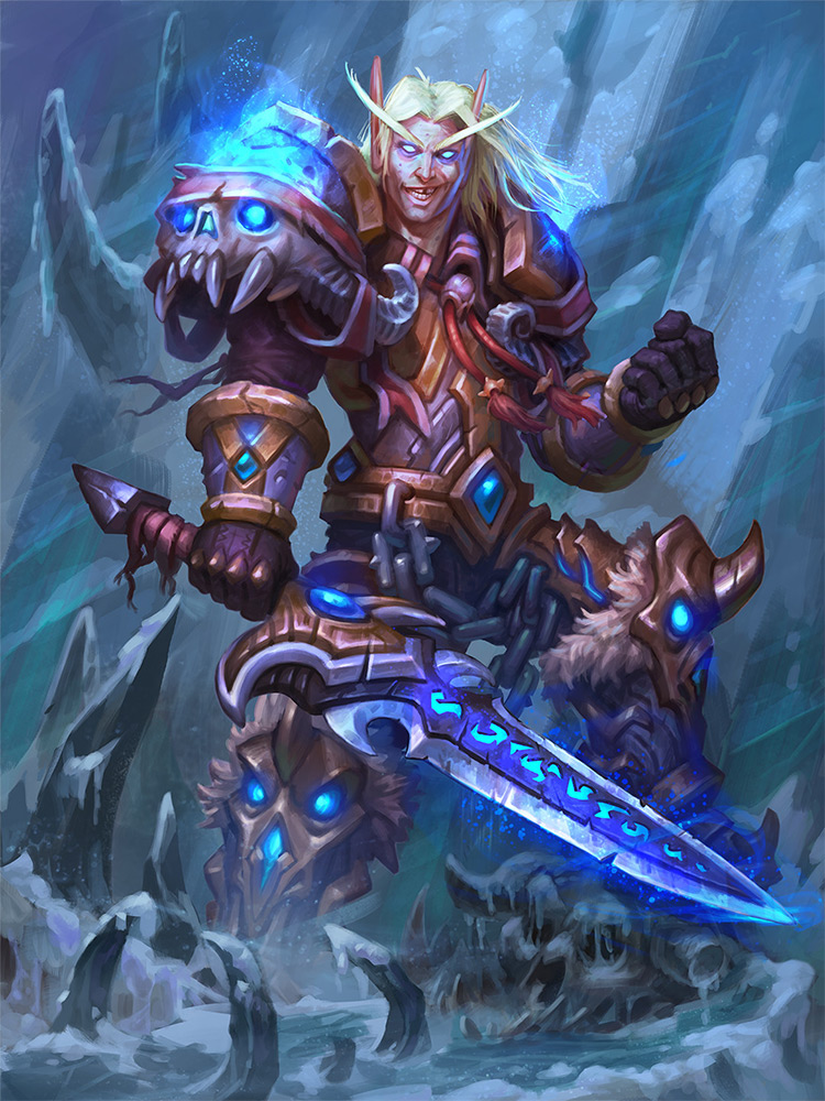 death knight paladin character concept