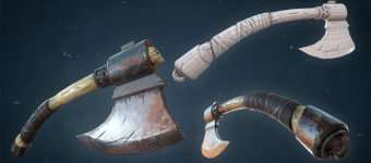 Battle Axe Weapon Gallery For Concept Art Inspiration