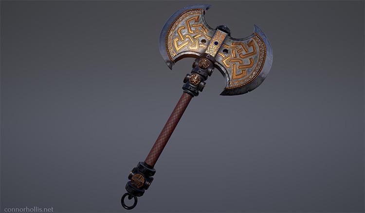 warhammer axe concept
