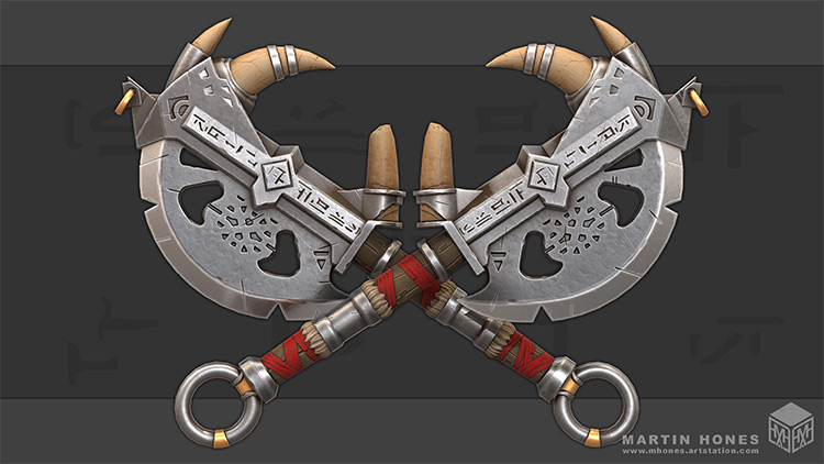 battle axe weapons