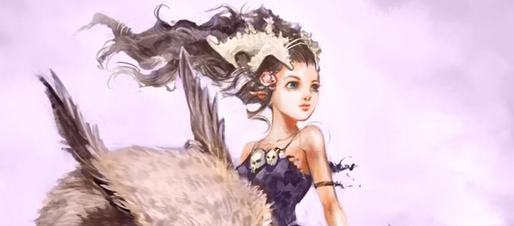 Girl character digital painting