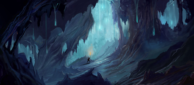 cavern environment concept