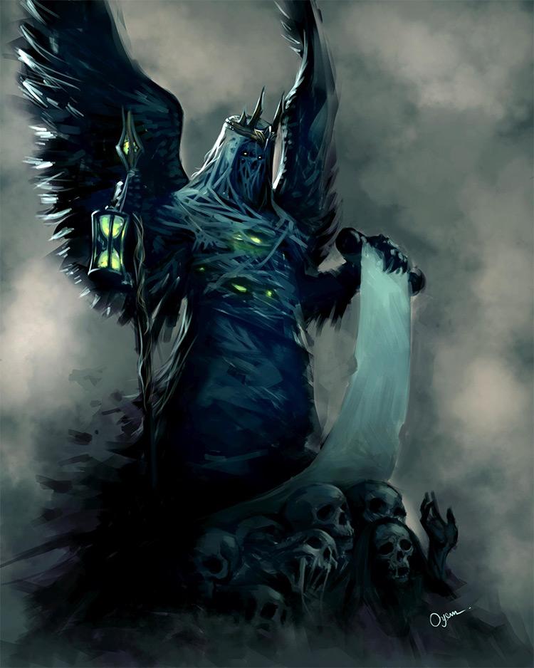 Time ghost wraith creature art