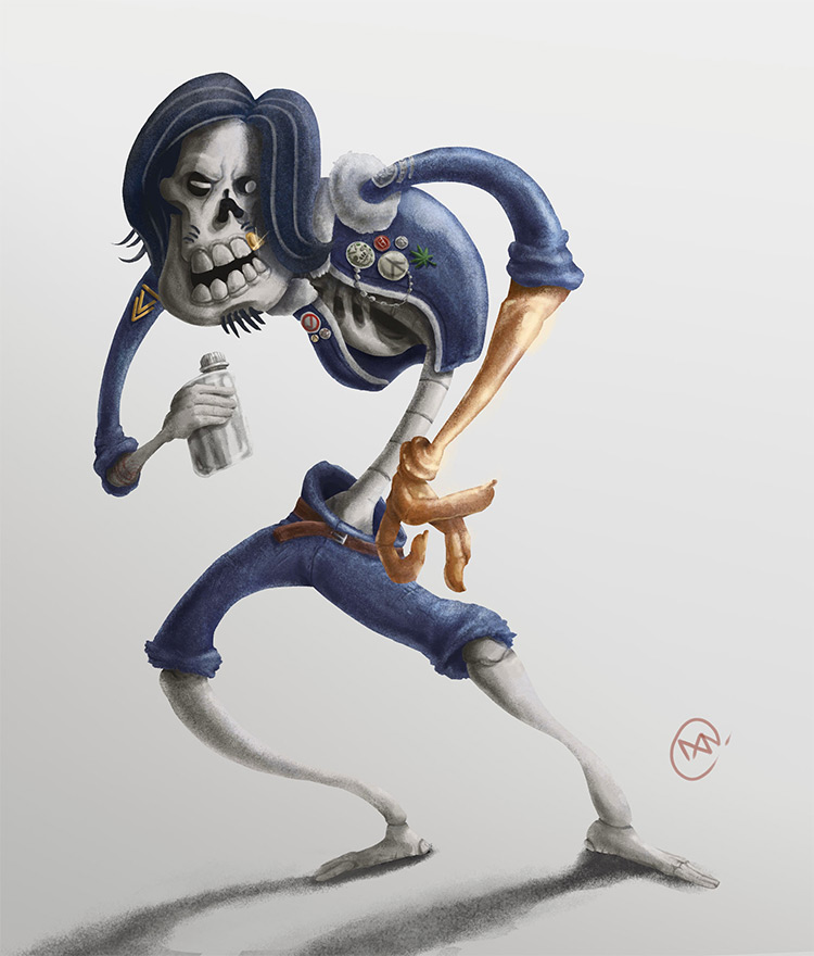 Uncle Ghost Personal Character Art
