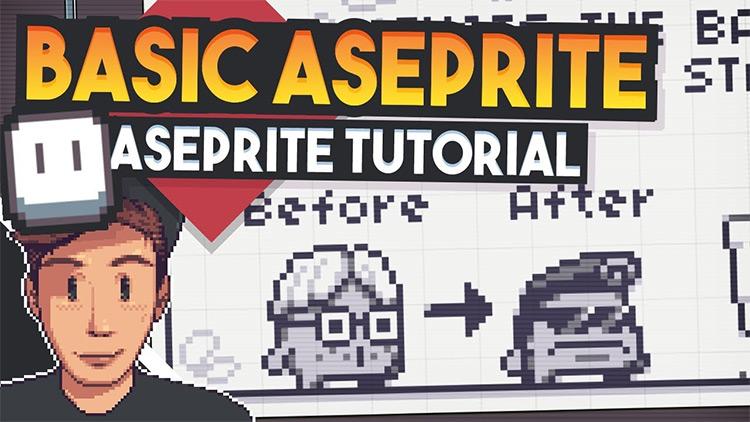 d428dd03b9 Best Free Aseprite Tutorials For Game Designers & Pixel Artists