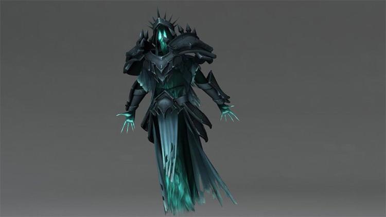 Wraith ghost 3d rig