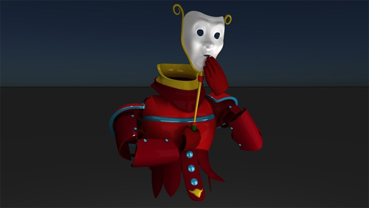 Haunted Armor model