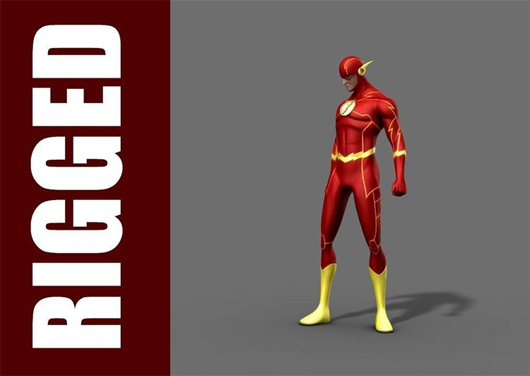 The Flash - 3D rig