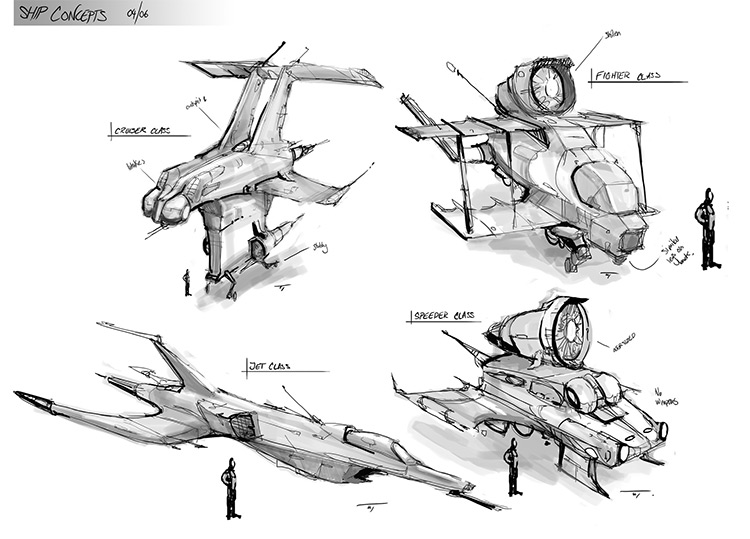 william thompson thumbnail sketches