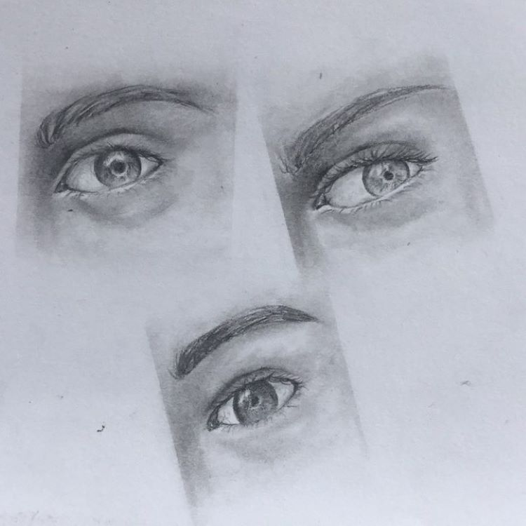 Quick eye sketches