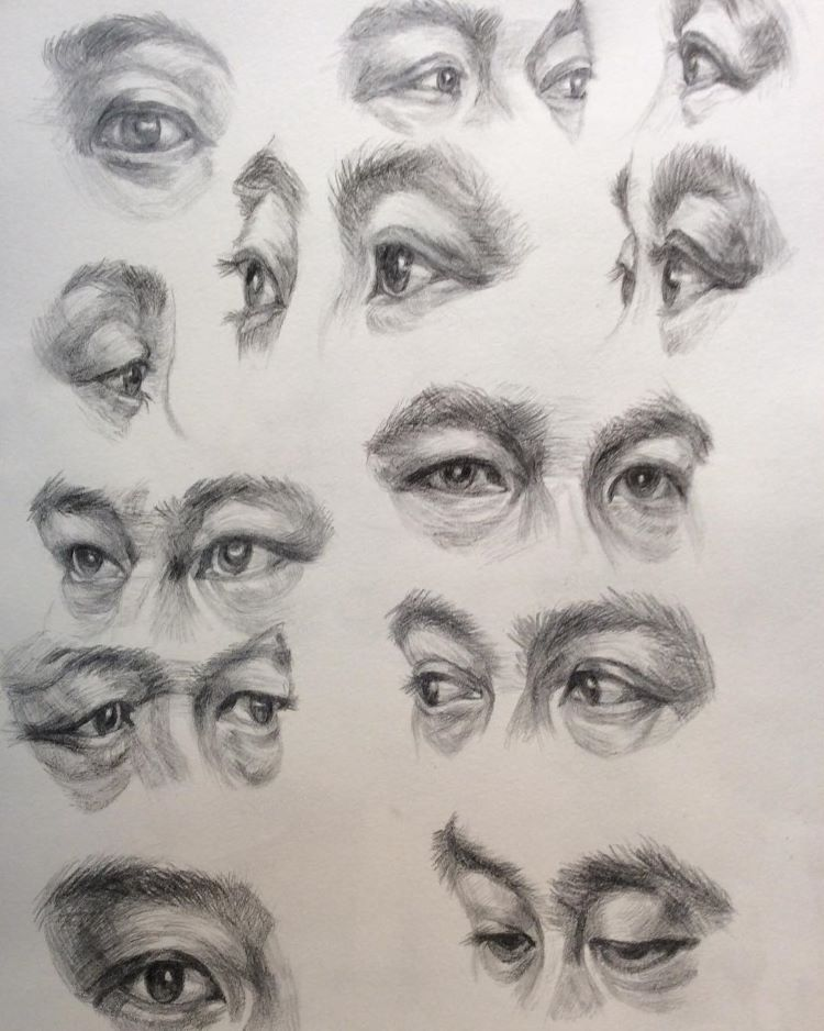 80 Drawings Of Eyes From Sketches To Finished Pieces