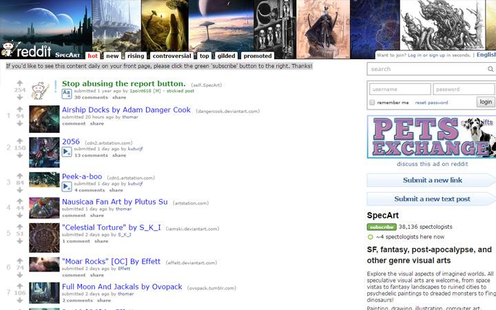 spec art community reddit