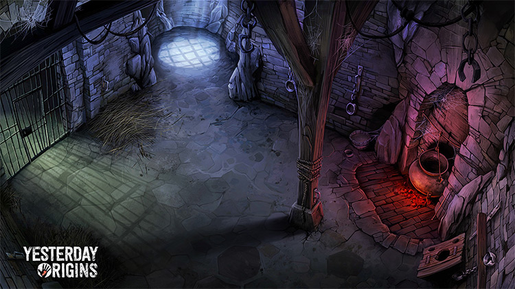 basement game concept art