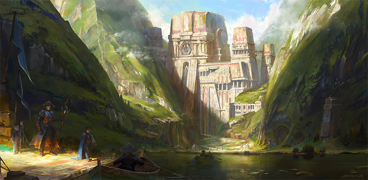 Medieval Buildings And Towns For Concept Art Inspiration