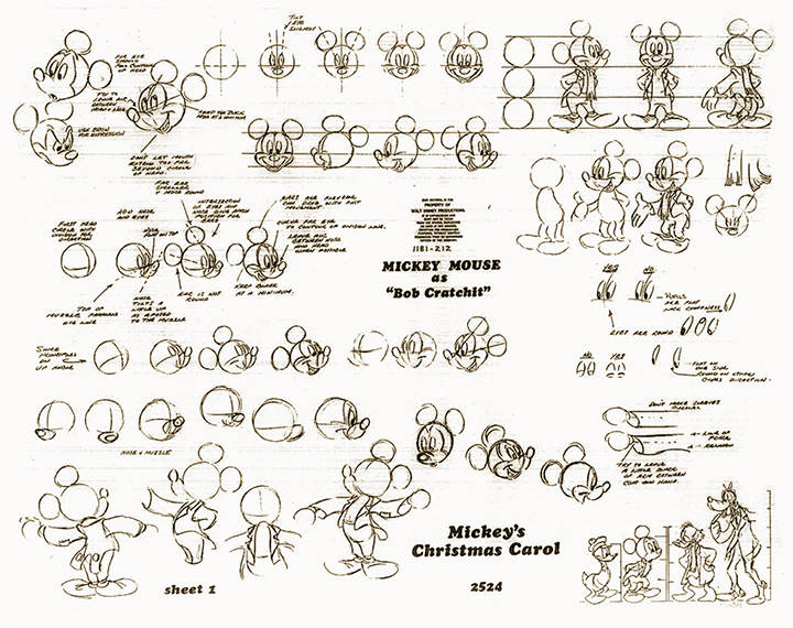 mickey christmas carol cartoon