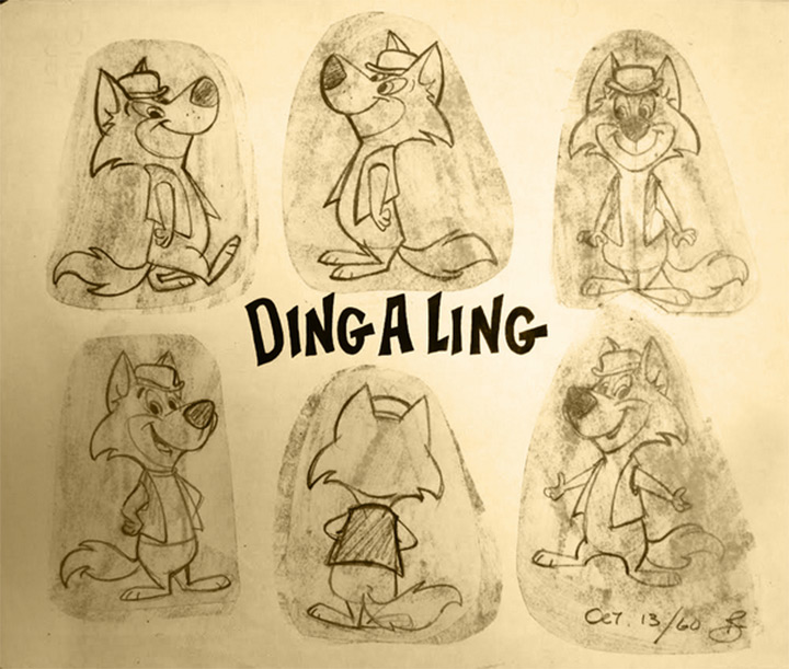 ding a ling cartoon