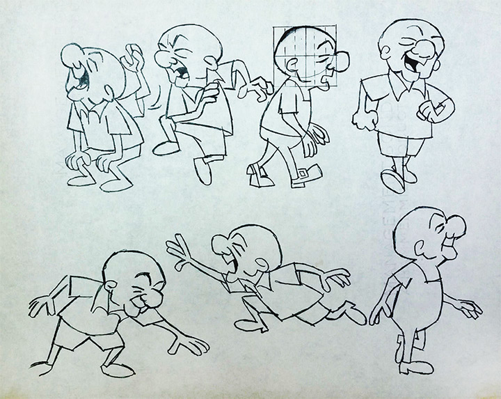 mr magoo model sheet 1964